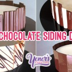 FLAT CHOCOLATE SIDE DECOR Tutorial | Yeners Cake Tips with Serdar Yener