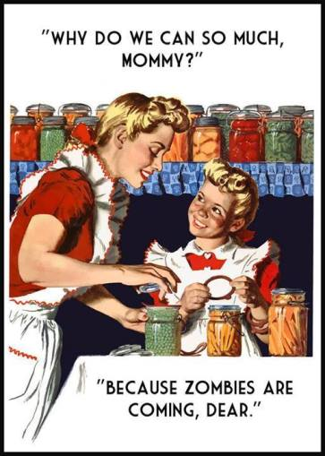 Canning Food Zombies