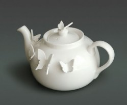 Polly George Butterfly teapot