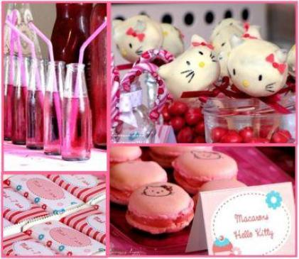 Hello Kitty Birthday Party Edible Crafts