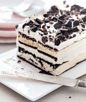 Ice Cream Cake Edible Image : Ice Cream Sandwich Cake   Edible Crafts