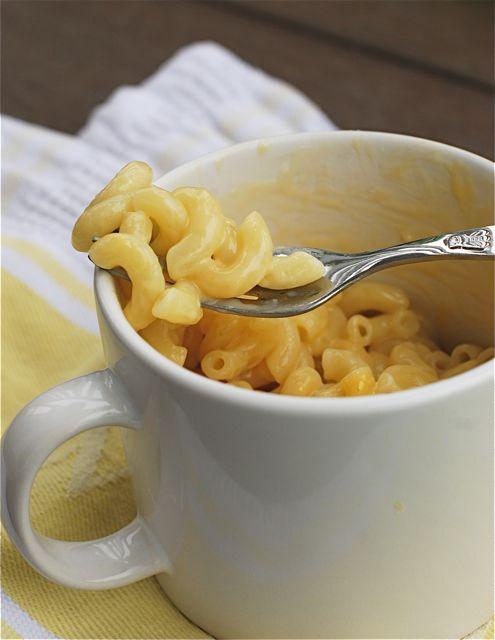 Diy Mug Mac And Cheese