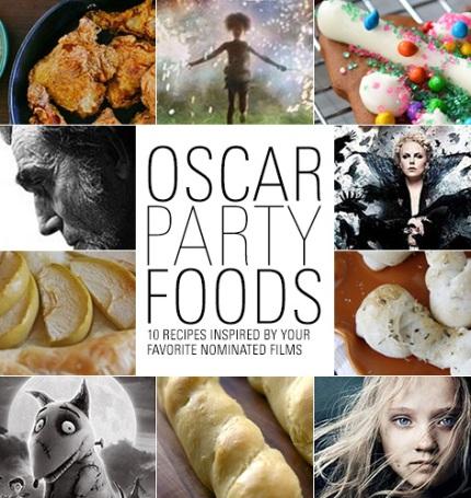 recipes for Oscar party
