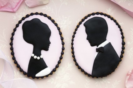 silhouette cookie