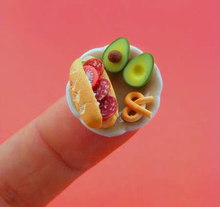 miniature-food-sculptures
