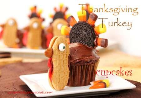 Thanksgiving-Turkey-Cupcakes