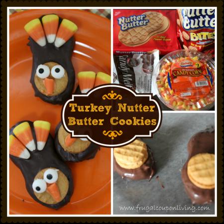 turkey-nutter-butter-cookies