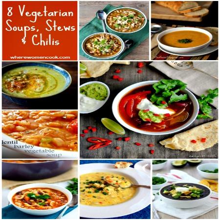 vegetarian soups, stews & chilis
