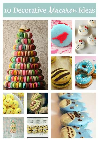 10 Decorative Macaron Ideas