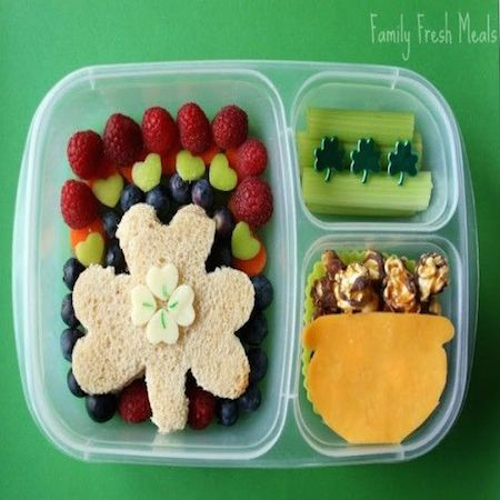 St. Patrick's Day Bento Lunches