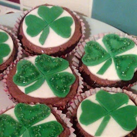 St. Patrick's Day Guinness Cupcakes