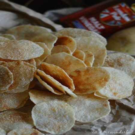 Food Network Microwave Potato Chips