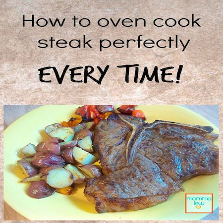 oven cooked steak