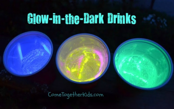 Glow in the Dark Drinks - Come Together Kids