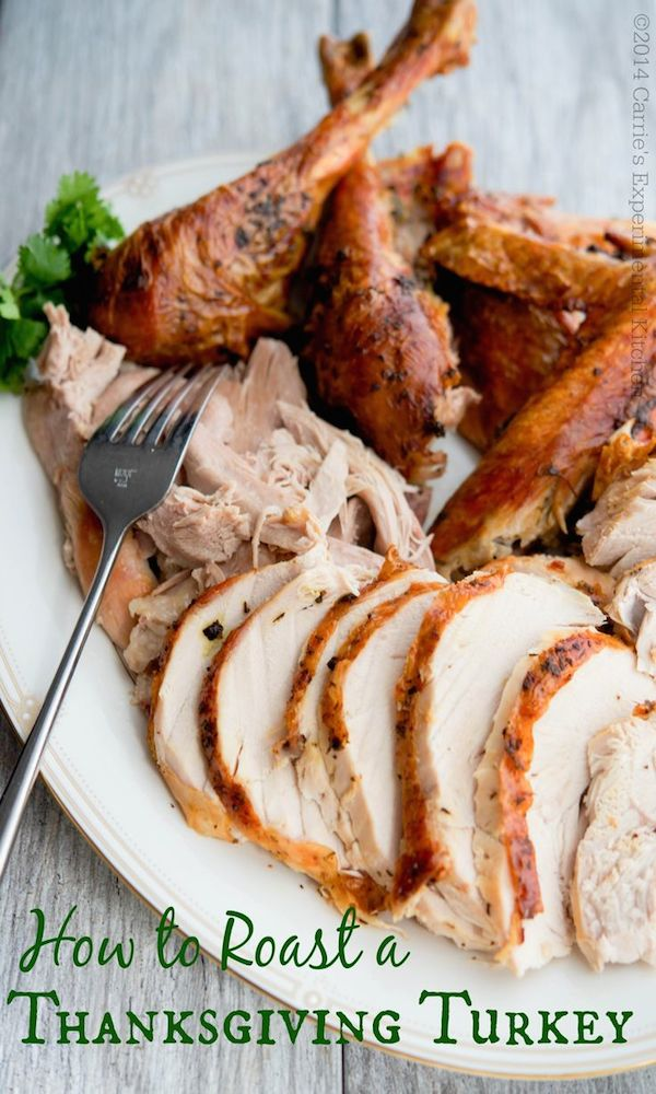 How To Roast A Thanksgiving Turkey Edible Crafts
