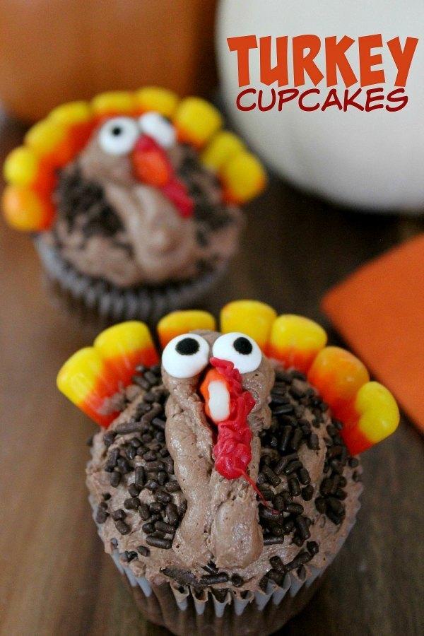Turkey-Cupcakes