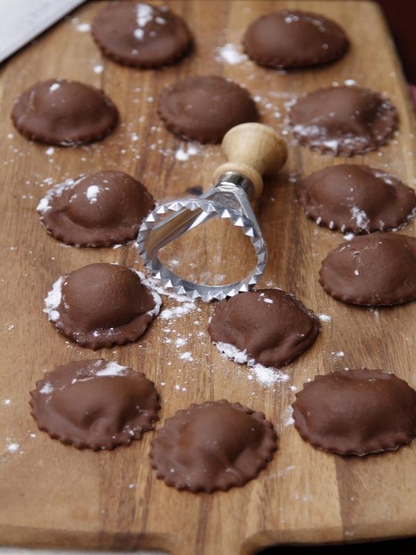 How to Make Chocolate Ravioli