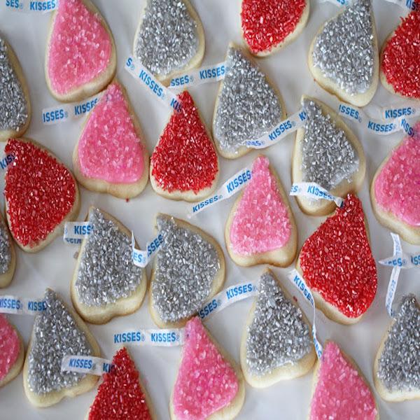 Kisses cookies