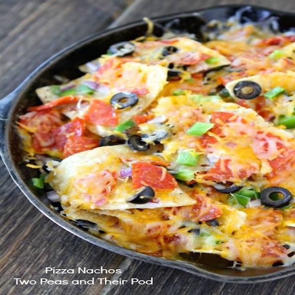 Pizza-Nachos