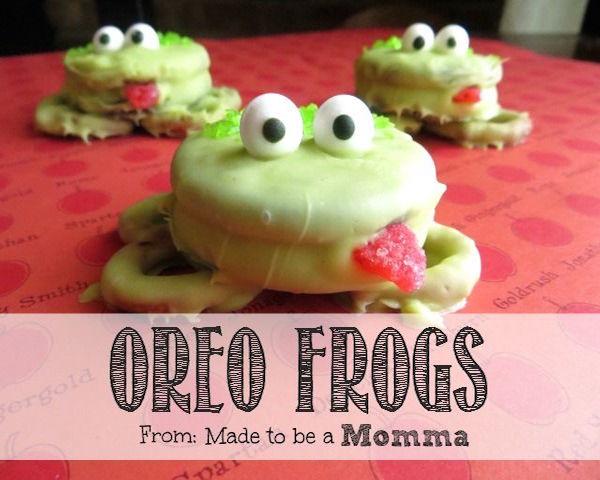 oreo frogs