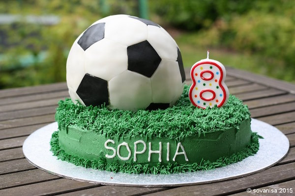How to Make a Soccer Ball Cake Edible Crafts