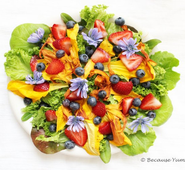 colors of the rainbow salad