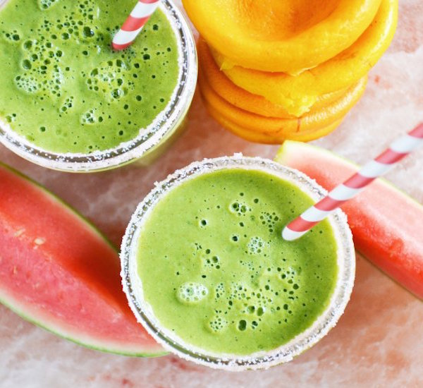 green monster margarita smoothie