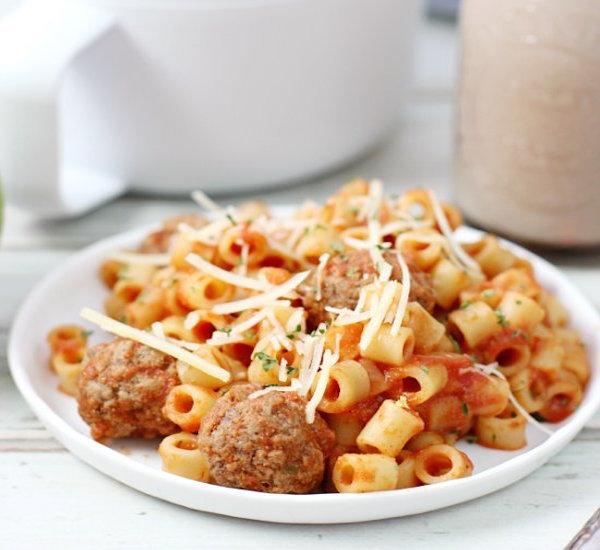 homemade spaghetti- Os