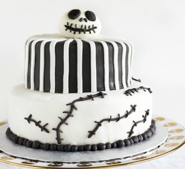nightmare before christmas jack skellington cake
