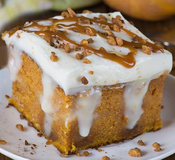 Food Network Pumpkin Cake Roll