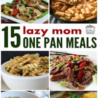 Easy One Pan Dinners