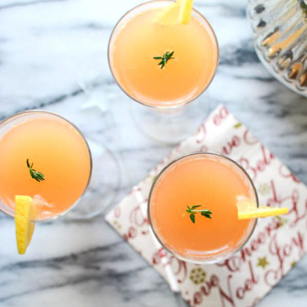 ruby thyme spritzers