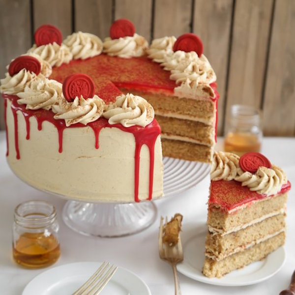 bourbon vanilla layer cake