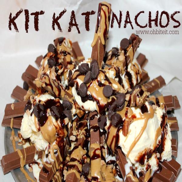 kit kat nachos