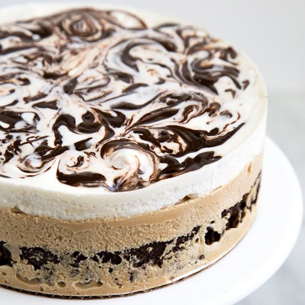 Ice Cream Cake Edible Image : Coffee Ice Cream Cake   Edible Crafts
