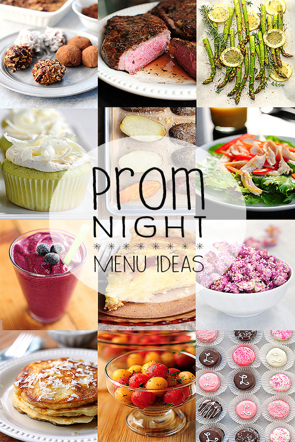 prom-menu-ideas