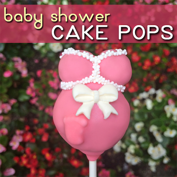 Baby Shower Cake Pop Edible Crafts