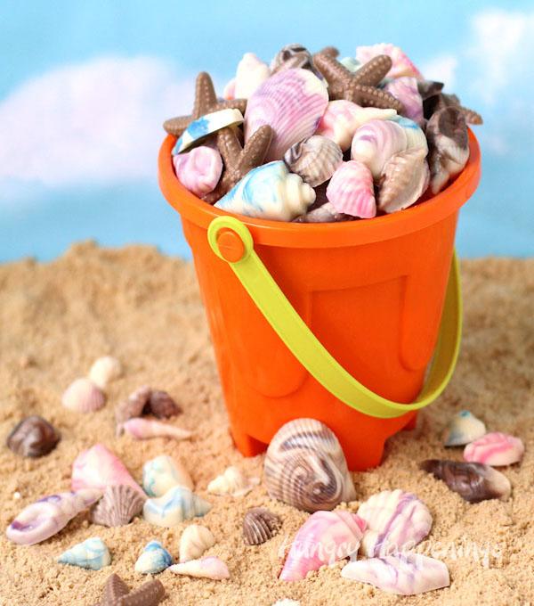 chocolate-shells-beach-party-desserts-diy