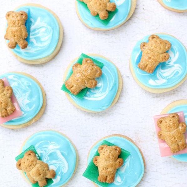 pool party cookies
