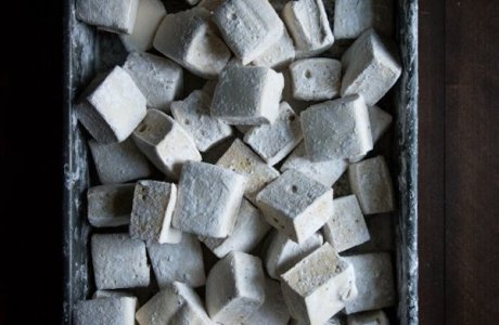 Boozy Maple Bourbon Marshmallows