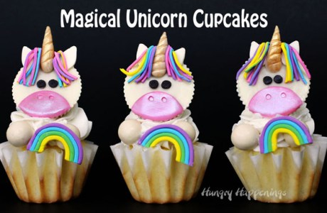Reese Cups Unicorn Cupcakes