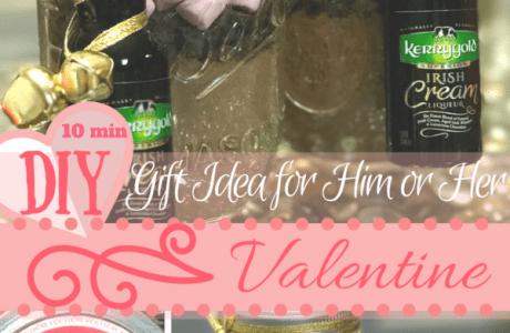 Last minute DIY Edible Valentine's Gifts