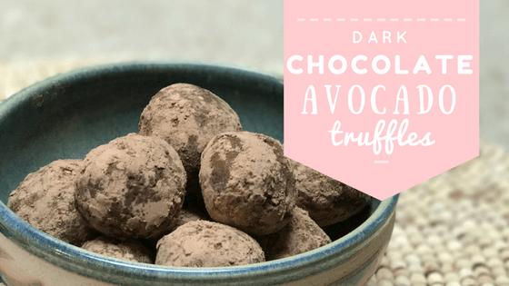 Healthy Avocado Chocolate Truffles