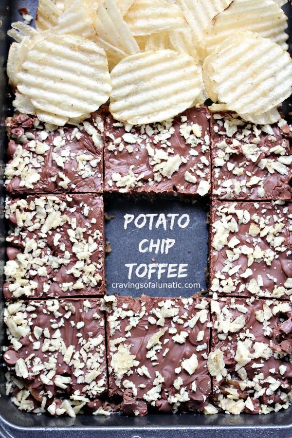 Food Network Edible Glass Potato Chips