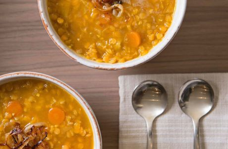 Red Lentil Soup To Warm Your Soul