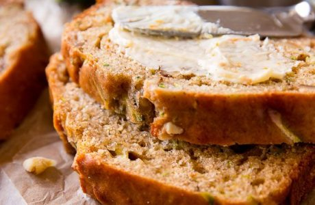 Yummy Greek Yogurt Zucchini Bread