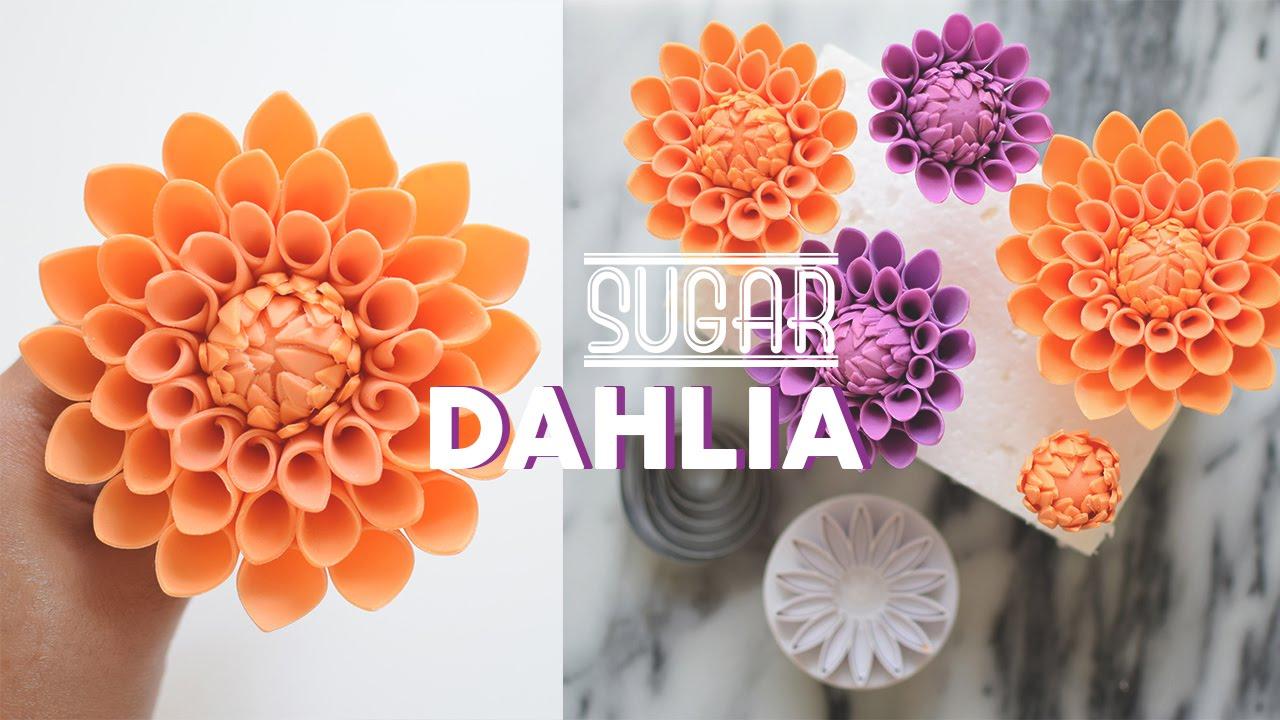 How To Make Gumpaste Dahlias