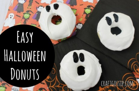 Halloween Donut Ghosts