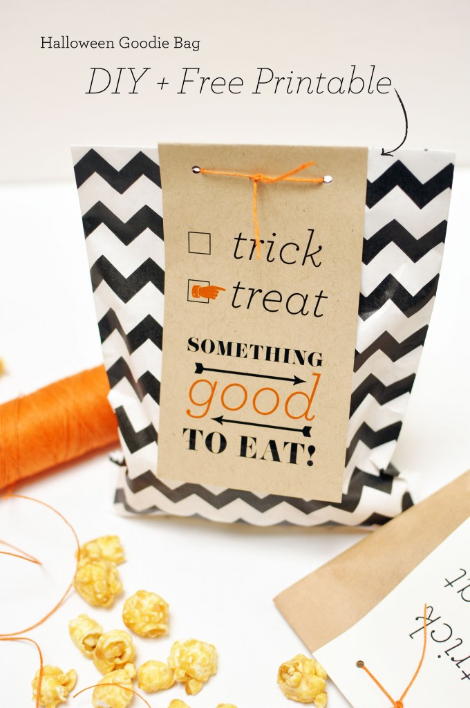 Halloween Printable Treat Bags