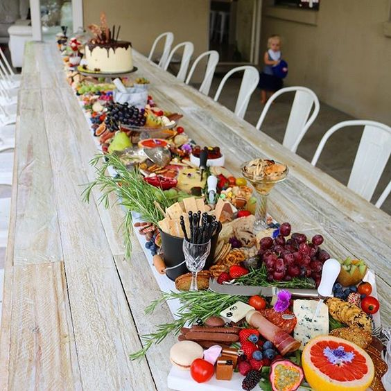 DIY Grazing Table Family Sized